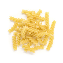Fusilli Dry Pasta Isolated On ...