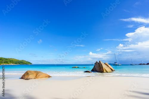 Fotografie, Obraz  stunning paradise beach at anse lazio, praslin, seychelles 57