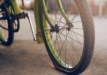 Beautiful Retro Bike Green, St...