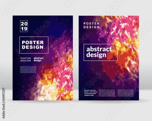 Fototapeta Abstract sky concept poster template. vector eps10 obraz na płótnie