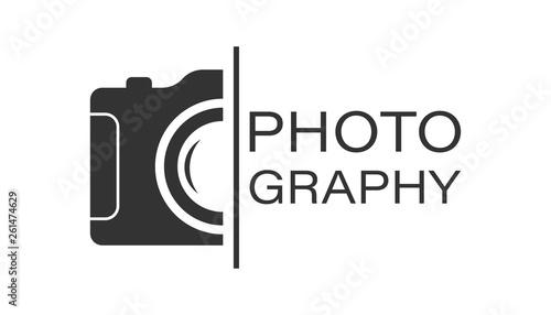Obraz na plátně  Camera device sign icon in flat style