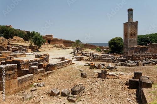 Fotografia  Park archeologiczny Chellach, Rabat (Maroko)