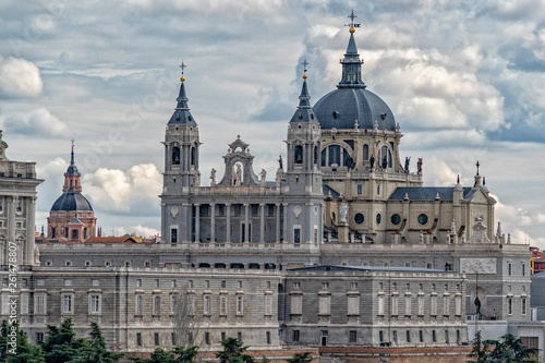 Foto  Madrid spain capital royal palace
