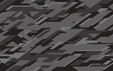 Abstract Modern Military Camo Texture Style Background.