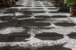 canvas print picture - parasols st. louis mauritius