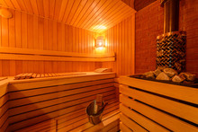 Small Home Finnish Wooden Sauna