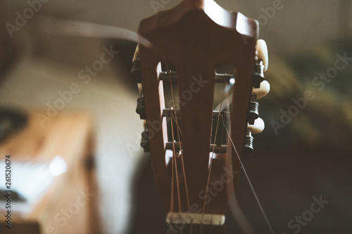 Spoed Foto op Canvas Grill / Barbecue Classical Guitar