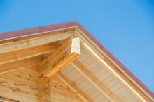 Log Cabin Building Gable End