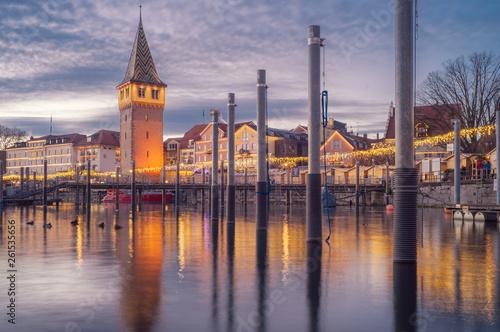 Lindau Weihnachtsmarkt.D Bayern Bodensee Lindau Hafenweihnacht Weihnachtsmarkt Buy
