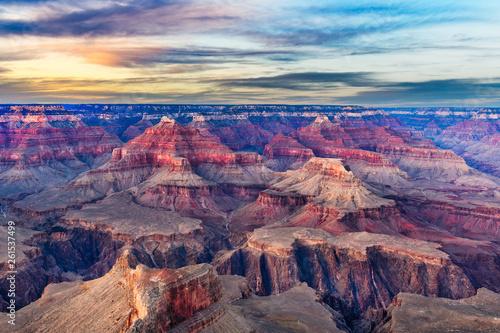 Fotografía Grand Canyon, Arizona, USA at dawn from the south rim.