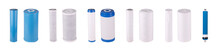 Set Of Filters Isolated On Whi...