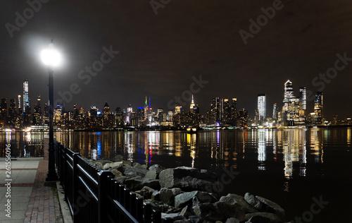 Fototapety, obrazy: Manhattan from Jersey