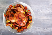 Roast Chicken With Vegetables ...