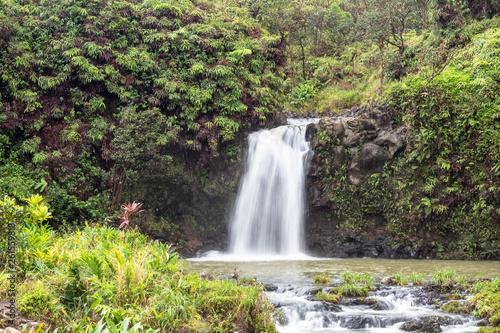 Waterfall at Puaa Kaa State Park Canvas Print