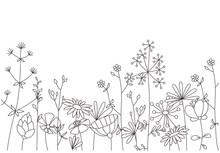 Floral Template. Decorative Bo...