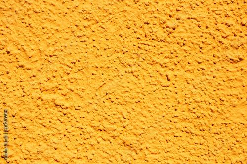 Yellow stucco texture #261599610