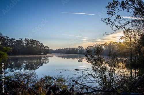 Fotografie, Tablou  Morning Lake Reflection