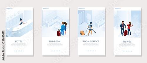 Fotografía  Hotel Services Travel Vector Social Media Banner