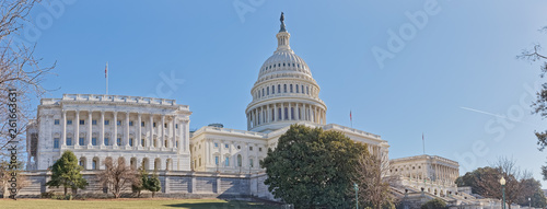 Fotografia  United States Capitol building in Washington DC