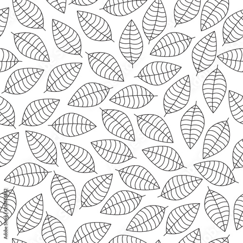vector-seamless-pattern-with-black-leaves-silhouettes-on-a-white-background