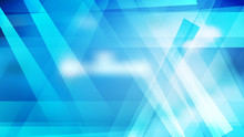 Geometric Abstract Blue And White Background