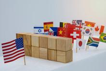 USA China And Multi Countries ...