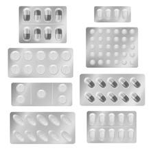 Realistic Blister Packs Pills....