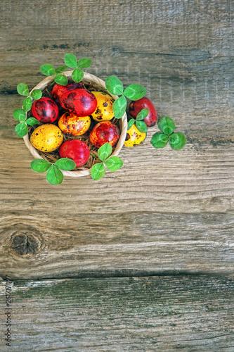 Foto  beautiful Easter still life