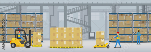 Workflow in warehouse