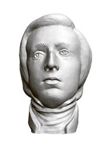 Sculpture Of The Polish Composer And Pianist Frederic Chopin. 3D. Vector Illustration