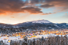 Breckenridge, Colorado, USA To...