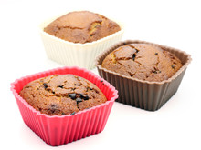 Choccolate Brown Muffin Dessert Or Cupcakes