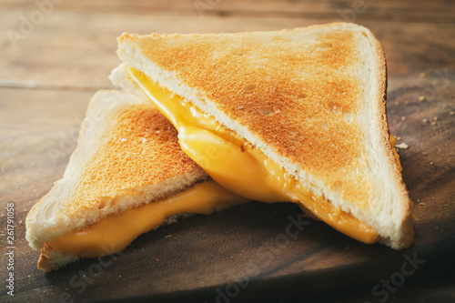 Fototapeta grilled cheese sandwiches obraz