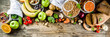canvas print picture - Good carbohydrate fiber rich food