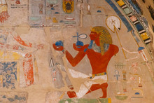 Ancient Egyptian Painting At T...