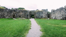 Old Inverlochy Castle In Fort William, Scotland