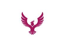 Creative Red Eagle Logo