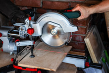 Works Miter Saw. The Red Line ...