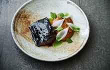 Caramelized Stewed Pork With Parsnip Puree
