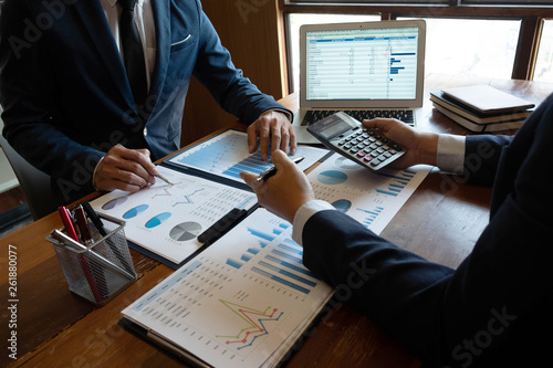 Financial accountant   planner   meeting   business cousultation   introduction