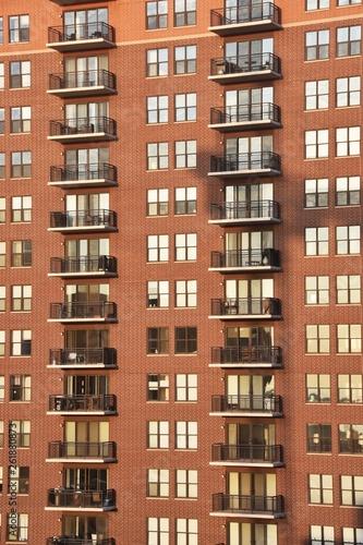 Fototapeta High-rise Apartment Building obraz na płótnie