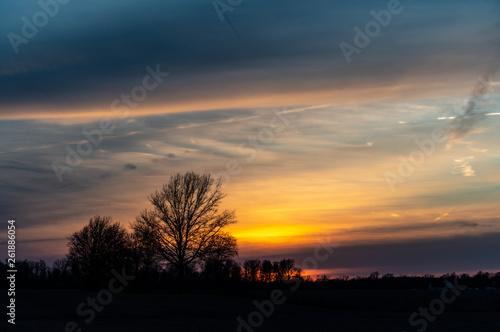 Spring Sunset 1