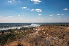 Mekong River At Pha Taem National Park