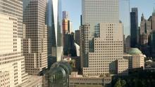 Aerial Shot World Trade Center...