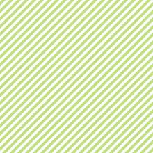 Green White Striped Fabric Tex...