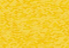 Gold Brick Wall Background. Ye...