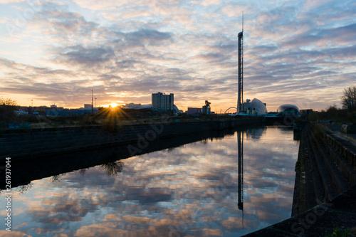 Govan Docks Sunrise 7
