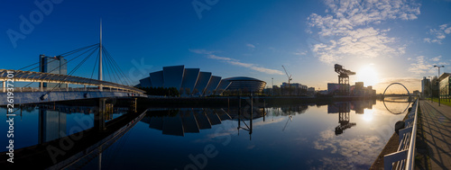 River Clyde Sunrise Panorama