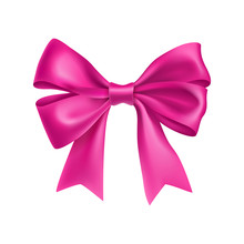 Decorative Pink Gift Bows With...