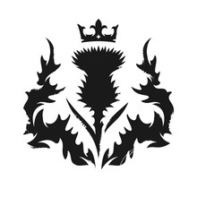 Scottish Thistle Emblem
